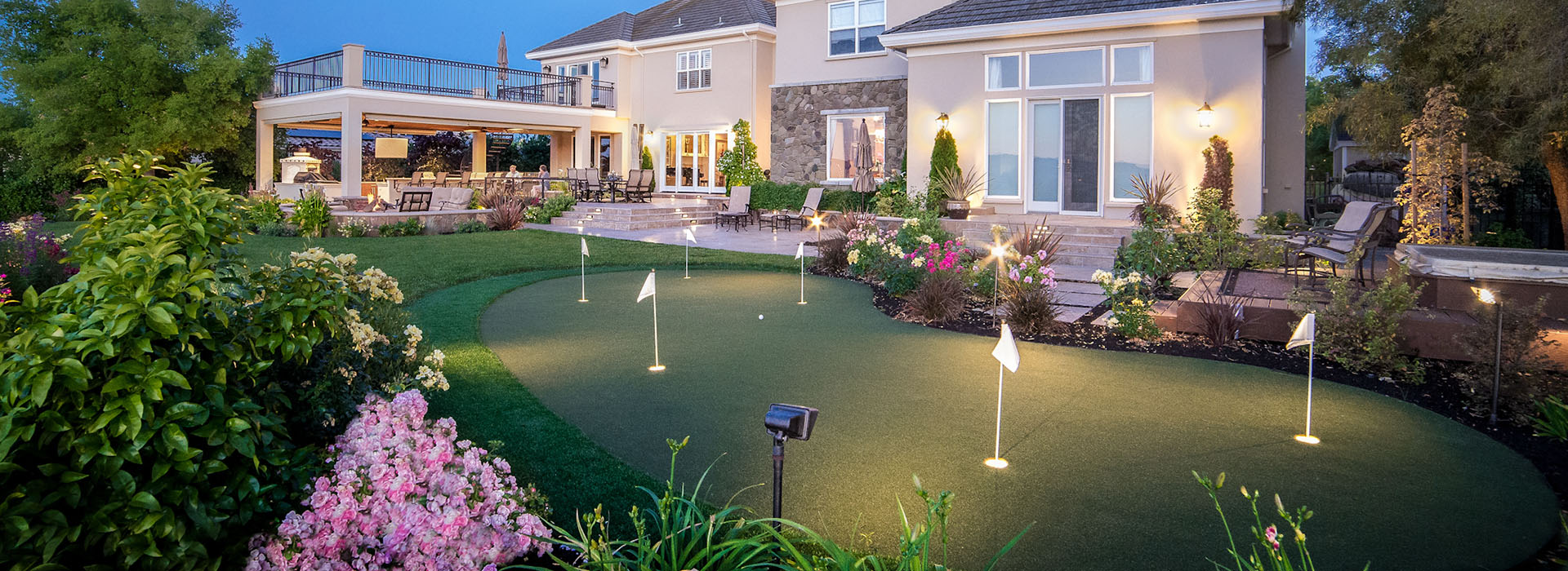 Putting Green Landscape